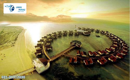 اقامت هتل 5 ستاره ترنج در جزیره ی زیبای کیش