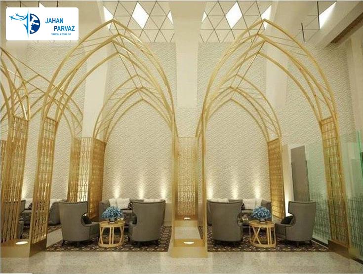 سالن تشریفات اختصاصی فرودگاه اصفهان جهت مسافرین هواپیمایی ترکیش