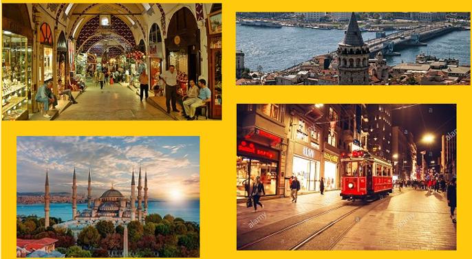 تور استانبول از اصفهان با پرواز ترکیش 3شب و 4 روز
